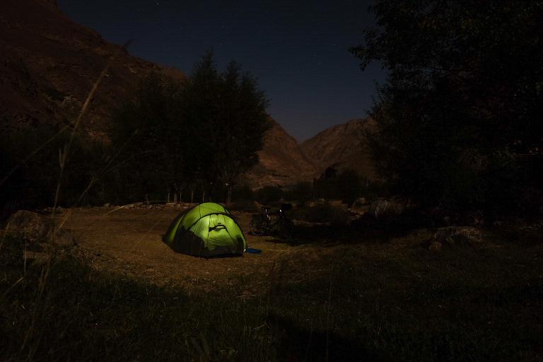 Bij maanlicht