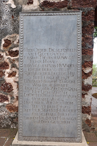 Nederlandse graven in Malakka