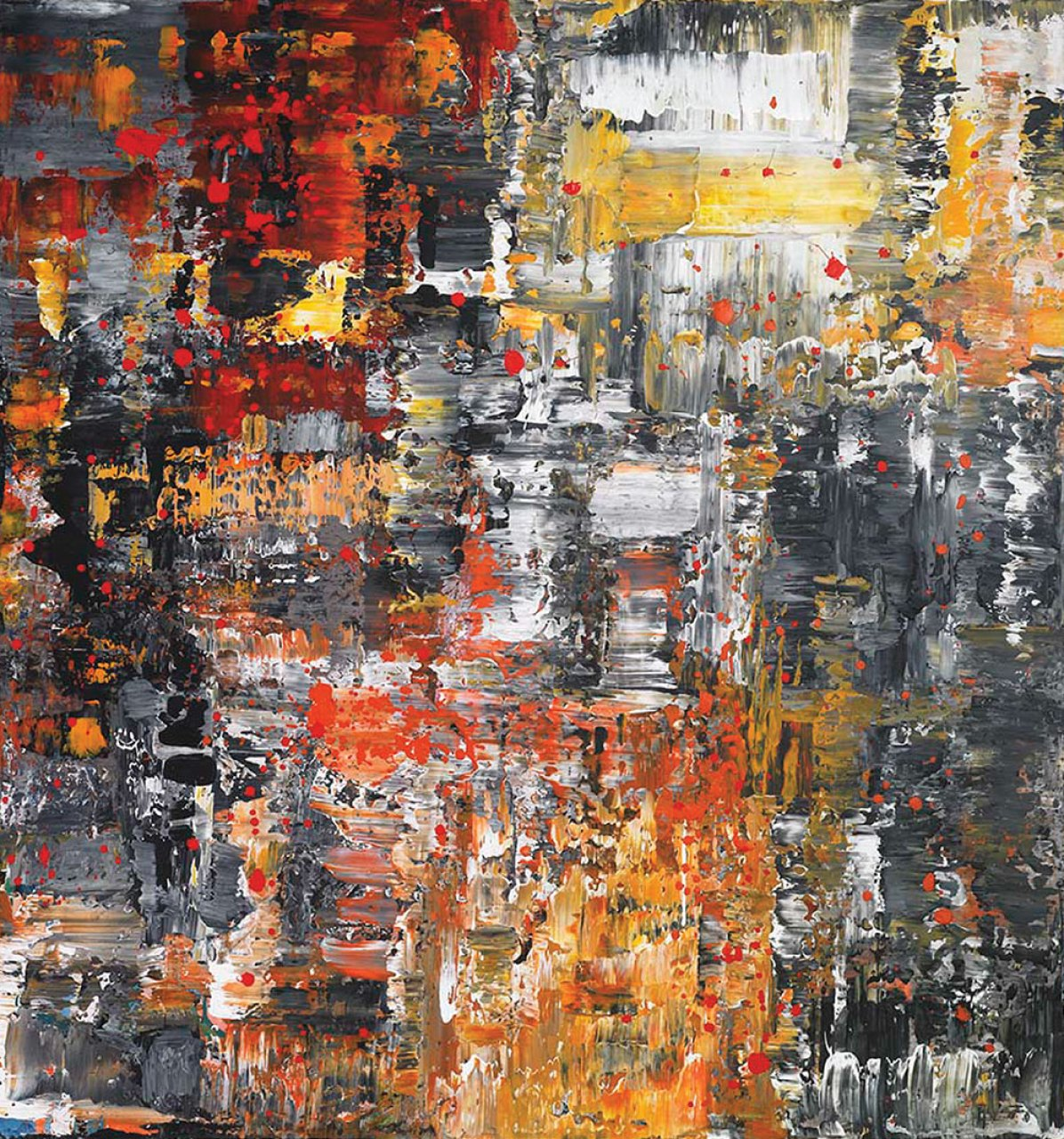 """""""Untitled""""   76 x 81 inches   Acrylic on Canvas"""