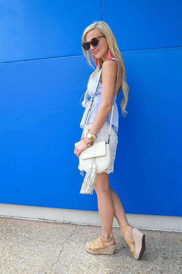 Tank topshop lace white skirt rebecca minkoff isobel crossbody bag 7