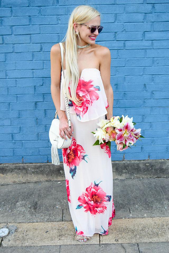 Floral Maxi Dress Vandi Fair