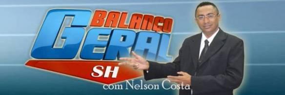 Nelson Costa apresentador do Balanço Geral que vai ao ar todos os sábados das 12:00h as 14:00h,