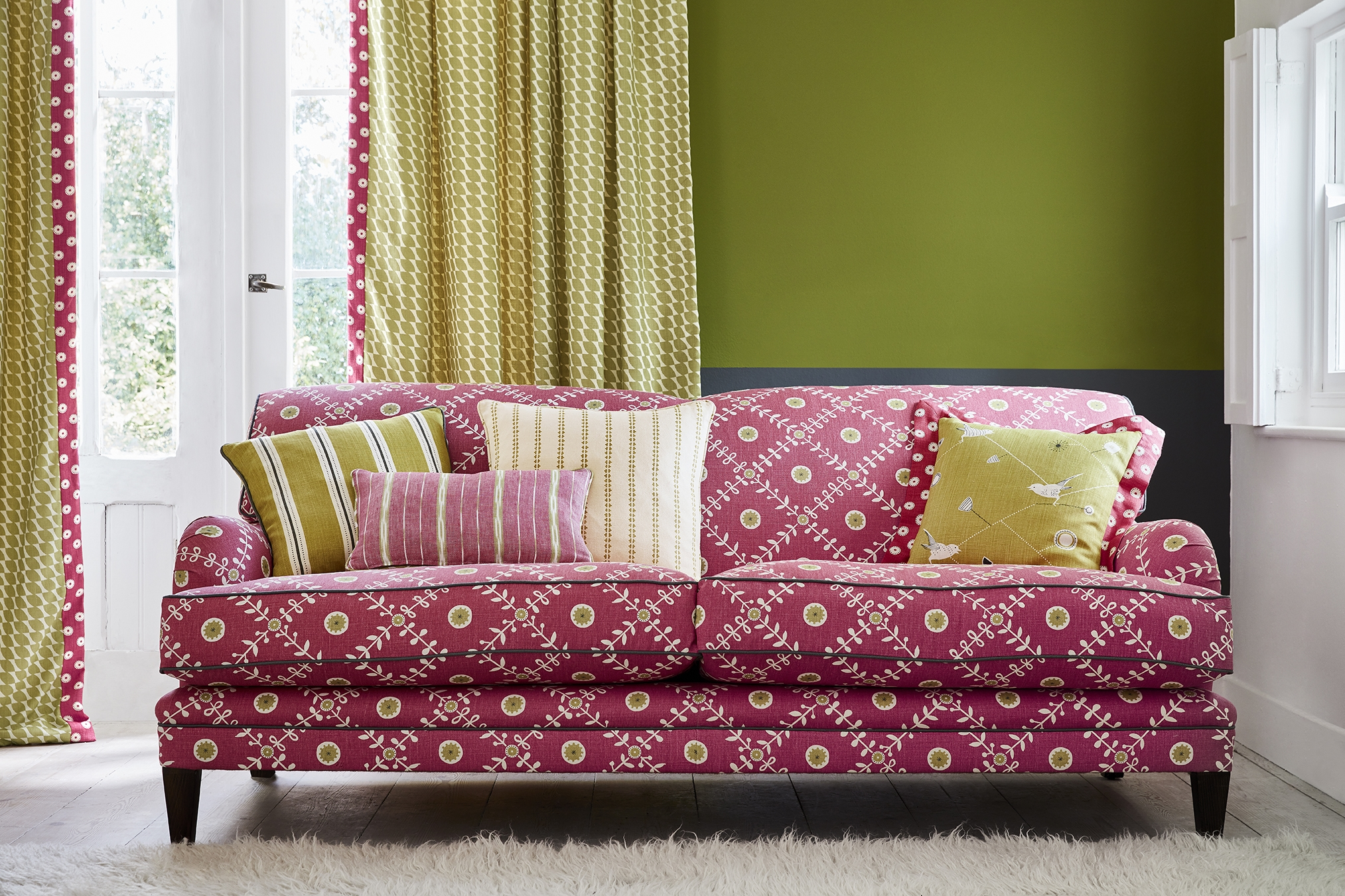 Scandinavian Ready Made Curtains Quilts Cushions Curtains Made To Order Vanessa Arbuthnott