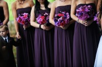 Shades of Purple  Wedding Colors Choices  Dress Codes