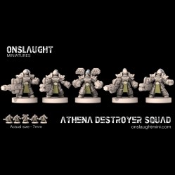 Athena Destroyer Squad