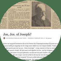 Jos, Jos. of Joseph?