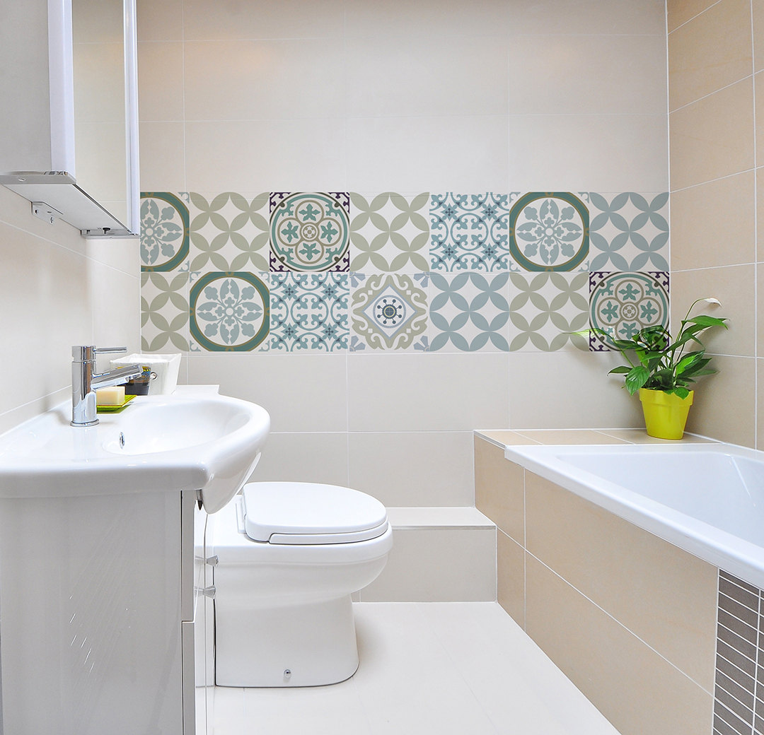 Sticker Voor Badkamer Kitchen Tile Sticker Vanill Co