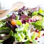 Winter Jeweled Salad with Citrus Balsamic Vinaigrette | VanillaAndBean.com