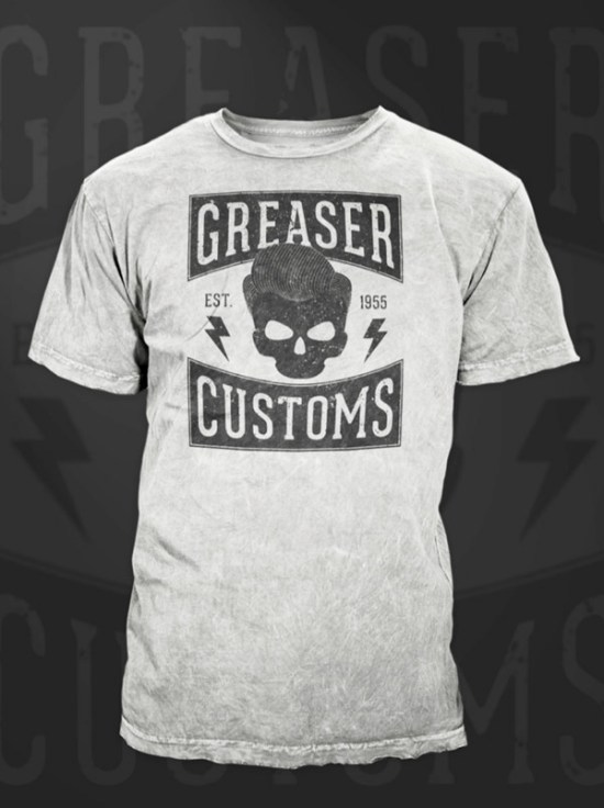 How to Create a Vintage-Style Grease T-Shirt Design