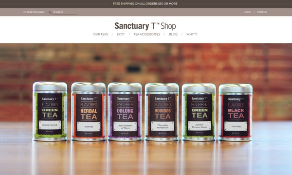 Sanctuary T Shop