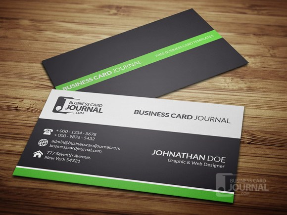 Clean & Professional Business Card Design