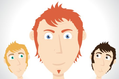 Create a Simple Character Face with Vector Shapes