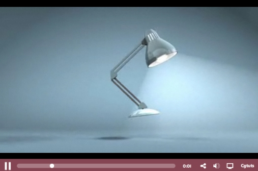 Create a Jumping Lamp Animation in C4D Day 1