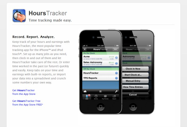 HoursTracker