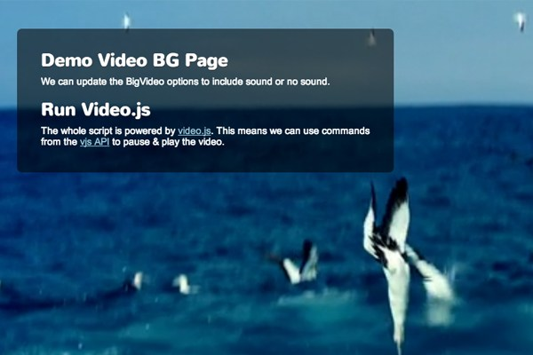 How To Build a Fullscreen Background Video Player