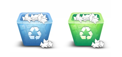Make a 3D Recycling Bin Icon with Photoshop