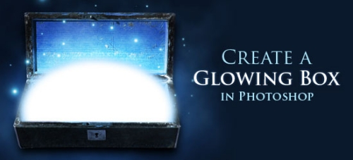 How to Make a Stylish Glowing Box in Photoshop