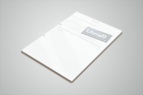 How to Create a Clean 3D Notepad in Photoshop