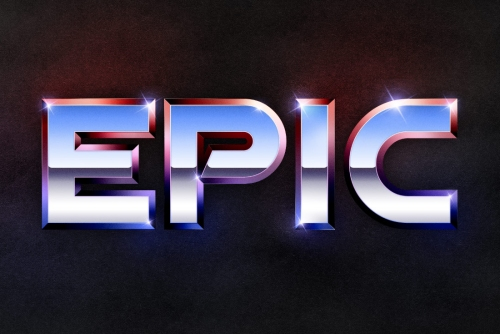 Recreate the Epic 80's Metal Text Effect in Photoshop