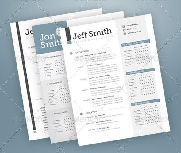 3 piece elegant resume set rapidshare