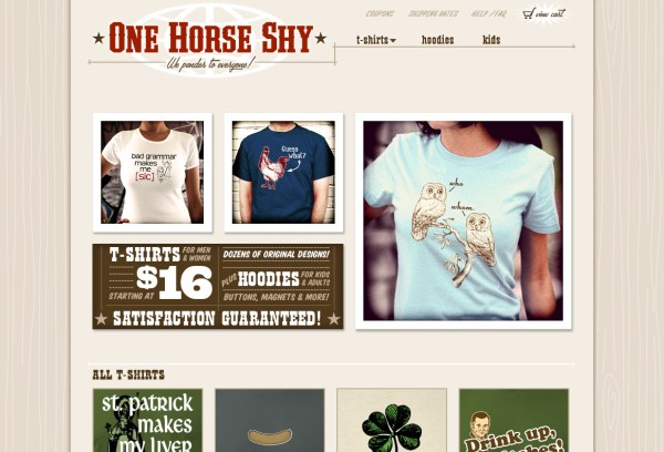One Horse Shy