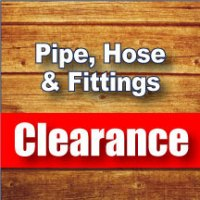 Pipe, Hose & Fittings Clearance