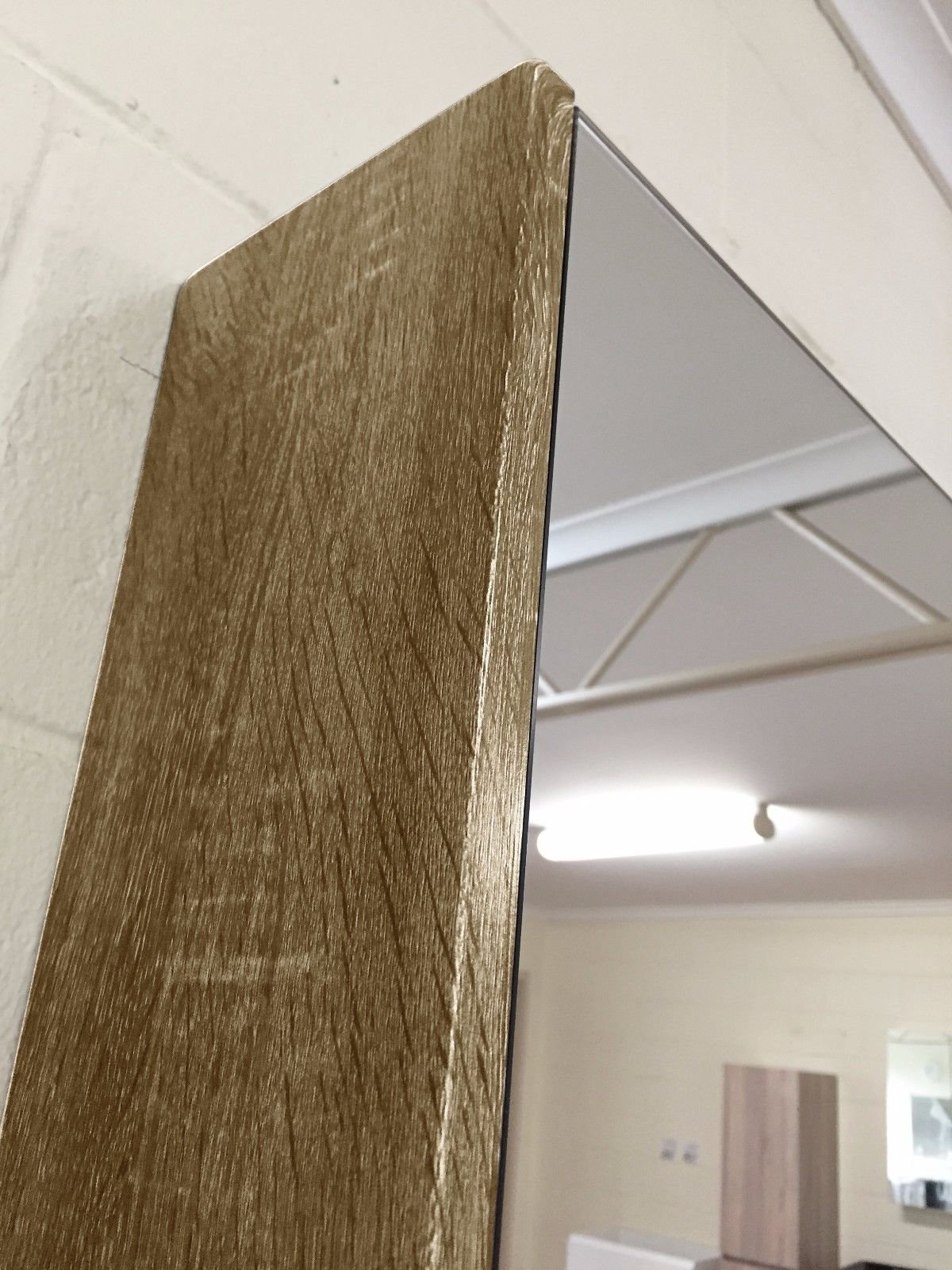 Shower Shaving Mirror Australia Shave Mirror Shaving Cabinet With Timber Wood Grain Side