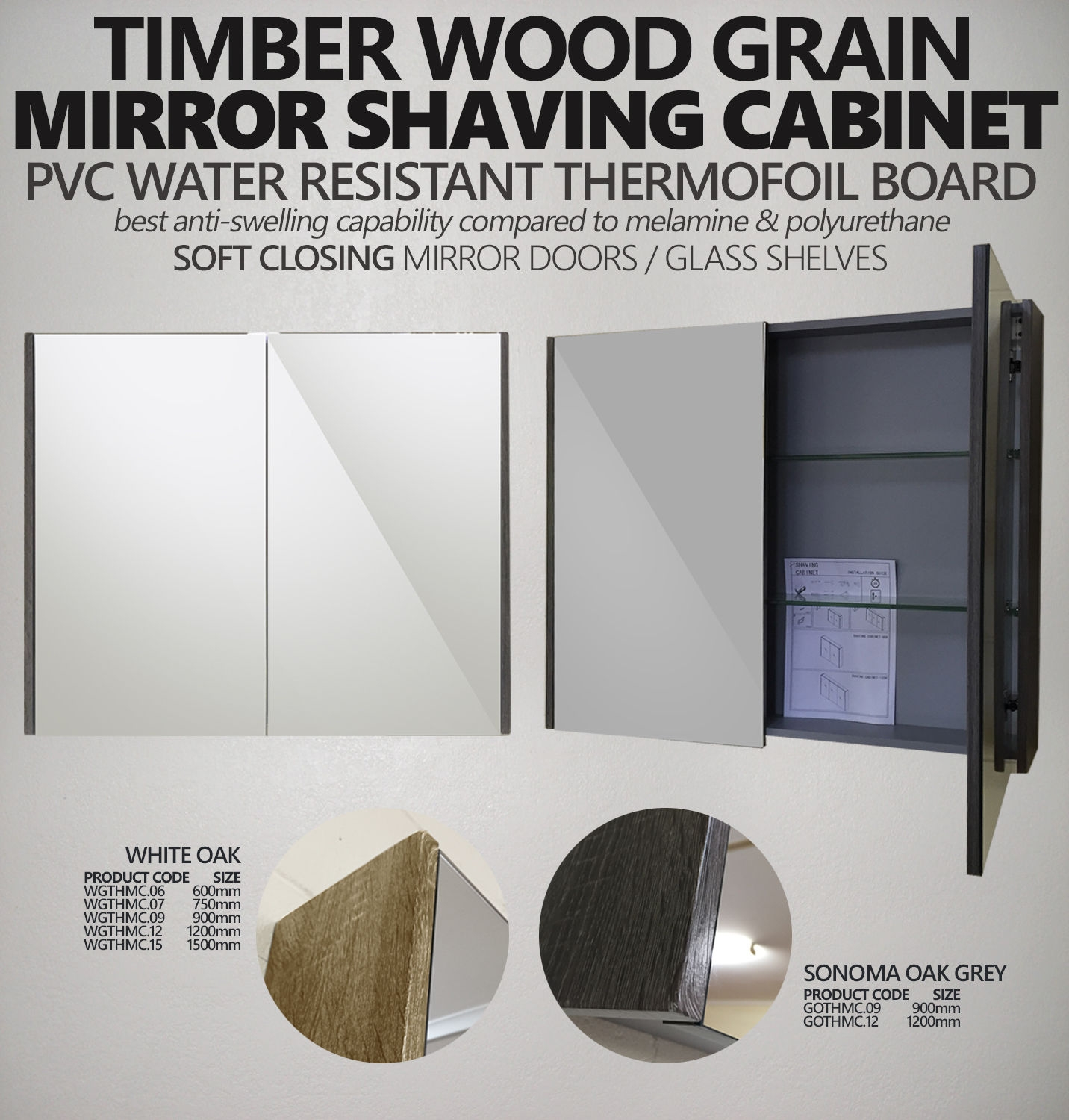 Shower Shaving Mirror Australia Shave Pvc Thermal Foil Mirror Shaving Cabinet With