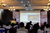TPC Chair of VJST2019, Assist. Prof. Nguyen Ngoc Mai Khanh, introducing the scientific program of VJST2019. (Photo: Ta Duc Tung)
