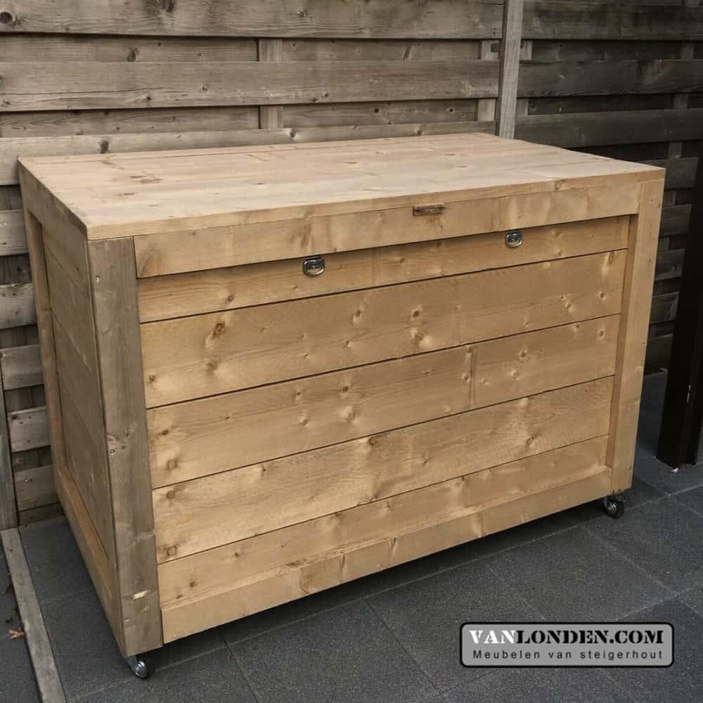Bekend Steigerhouten Kist Maken | Tafel Kist 141466 Kist Salontafel Antic RV55