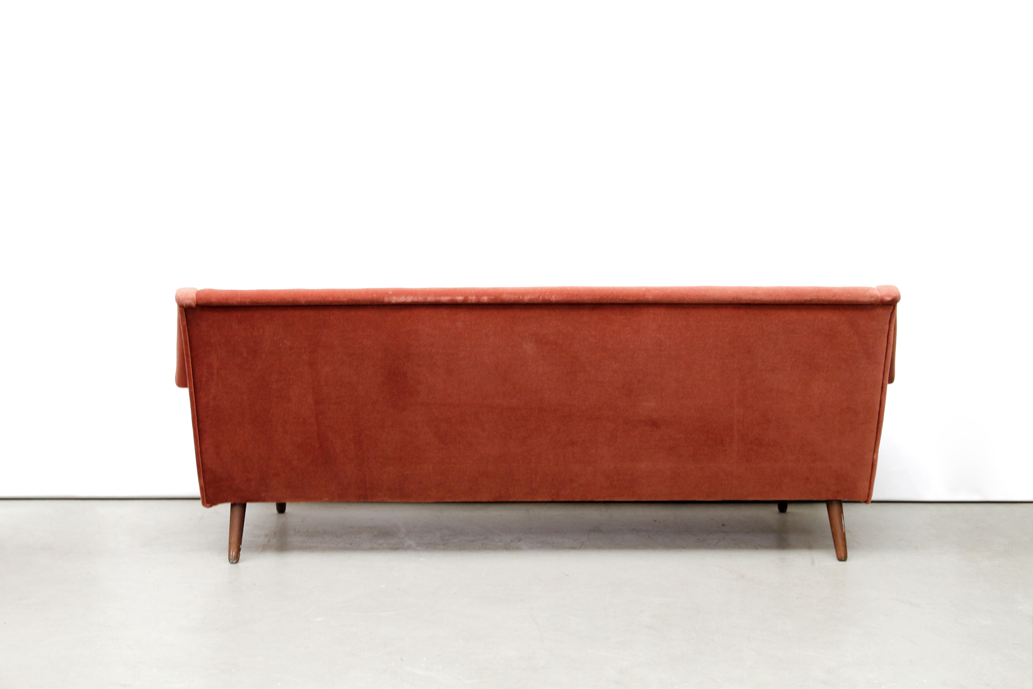 Bank Deens Design Vintage Oud Roze Deens Design Bank Danish Design Sofa