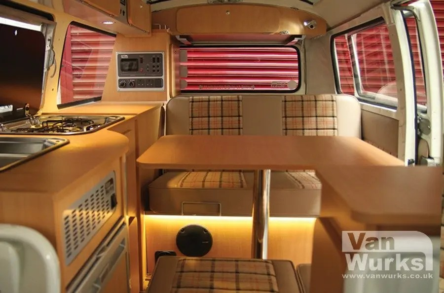 Camper Car 1979 Devon Bay With Deluxe Classic Interior In Beech