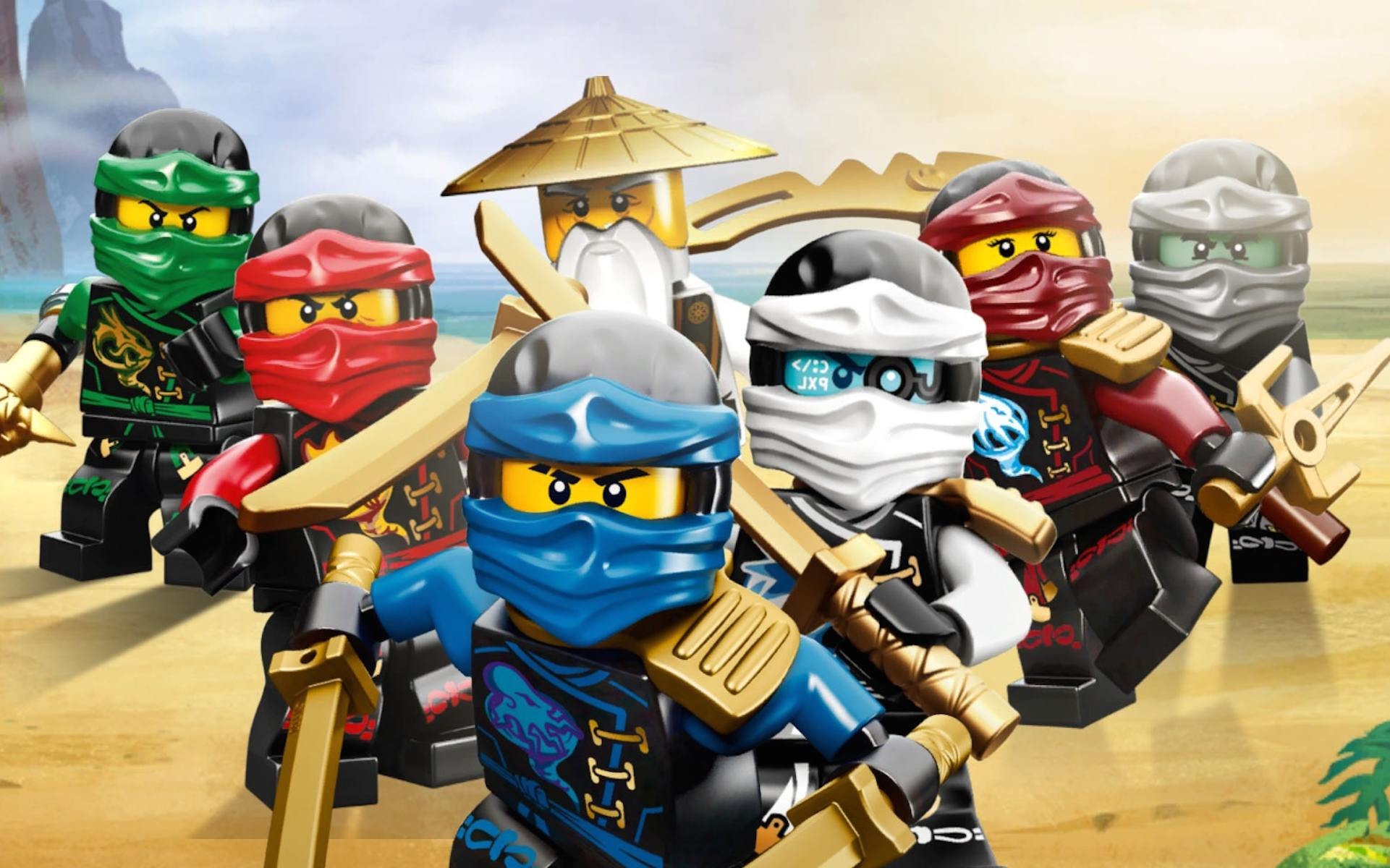 The Lego Ninjago Movie Jackie Chan And Justin Theroux Find Inner Piece In The Trailer For