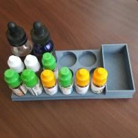 Large E-liquid holder for 10ml and 30ml bottles