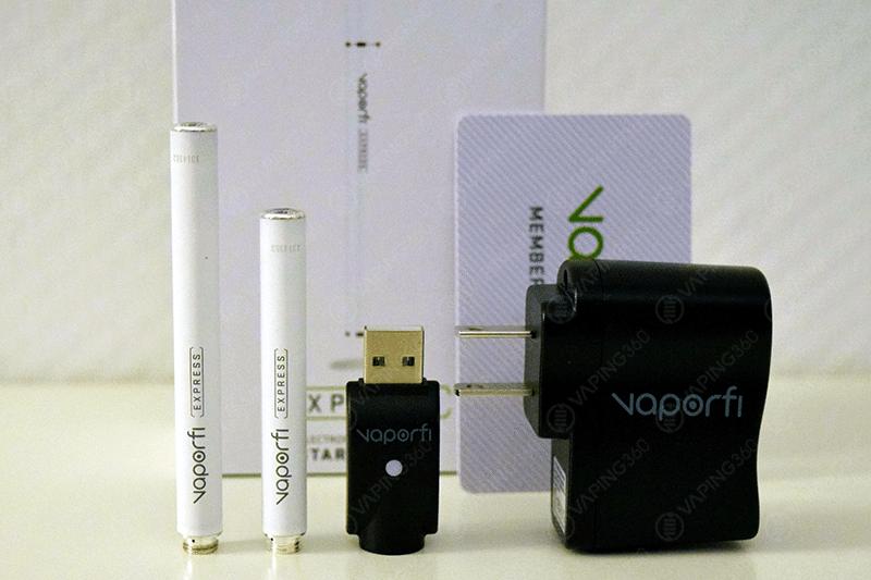 Vaporfi Express Kit Content