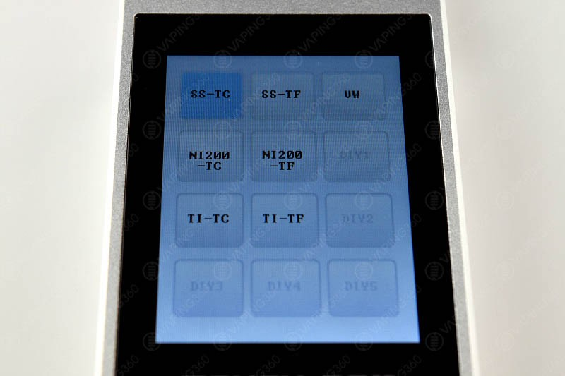 SMY Touch Box Modes