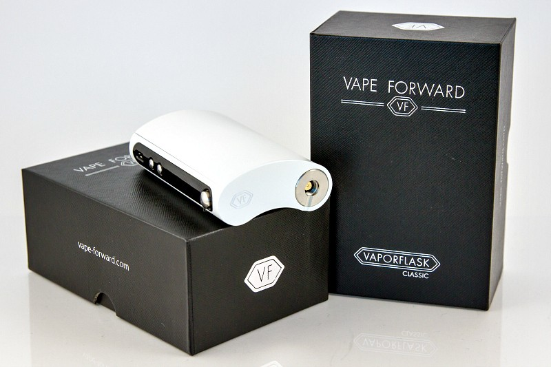 Vape Forward Vaporflask Classic White