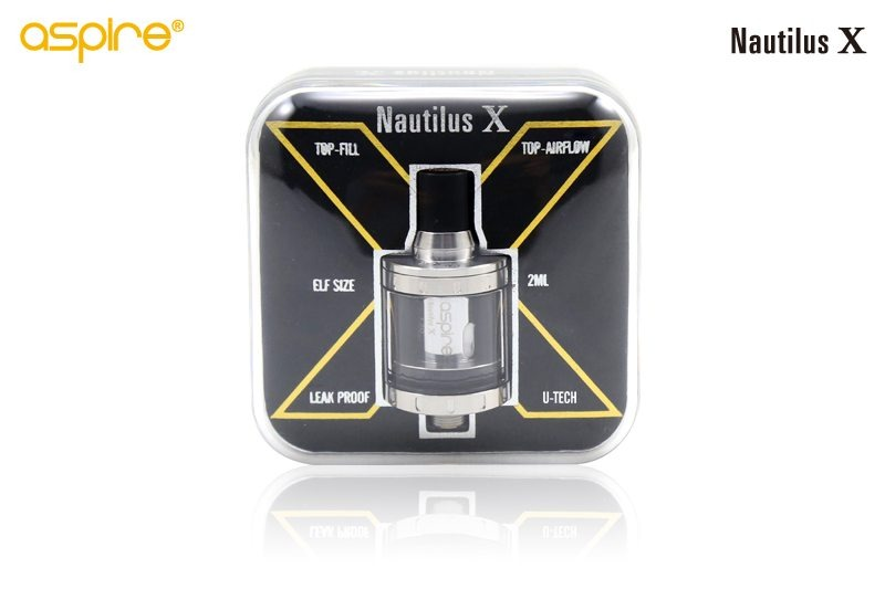 Aspire Nautilus X Packaging