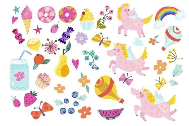 Unicorn Colors