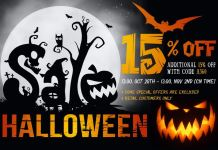 Heaven Gifts Halloween Sale