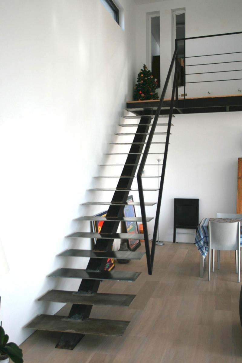 Marche Escalier Metal Escalier Droit Design - Varela La Boutique Design