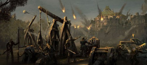 Eso Fall Wallpaper The War Of The Green Heart Trials And Trepidations In Varg