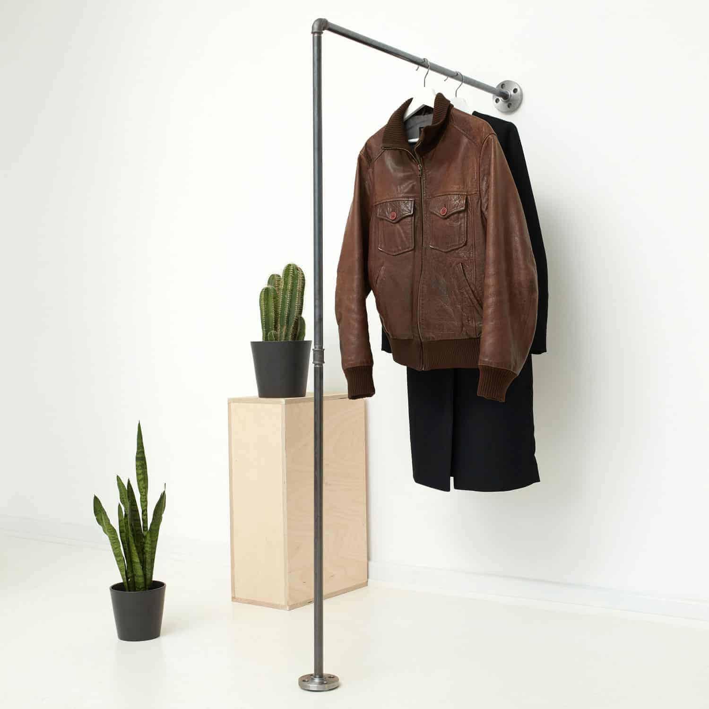 Kleiderständer Selber Bauen 16 Komfort Teleskop Kleiderstange Ikea
