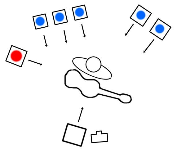 ambulance lights diagram