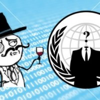 Lulzsec and Anonymous, the jerks that screwed up PSN for a few weeks.