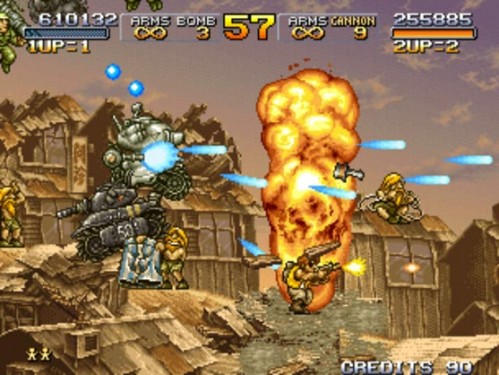 If you know what is going on in Metal Slug you are playing it wrong