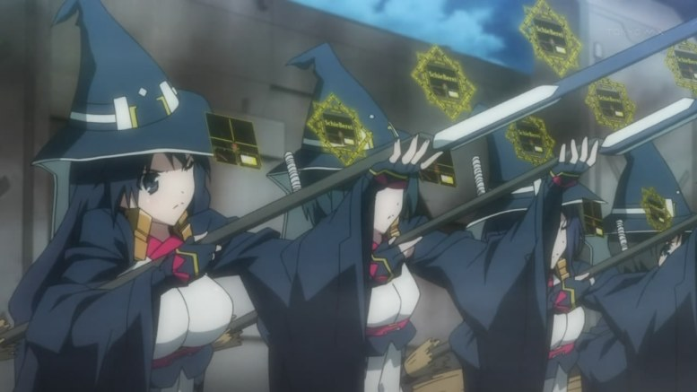 Naval warfare is much more awesome when it's fought on airships full of busty witches.