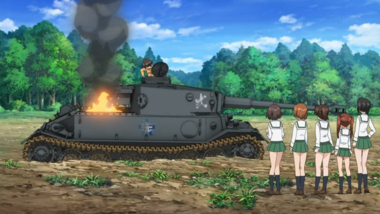 The Canyonaro of tanks right here.