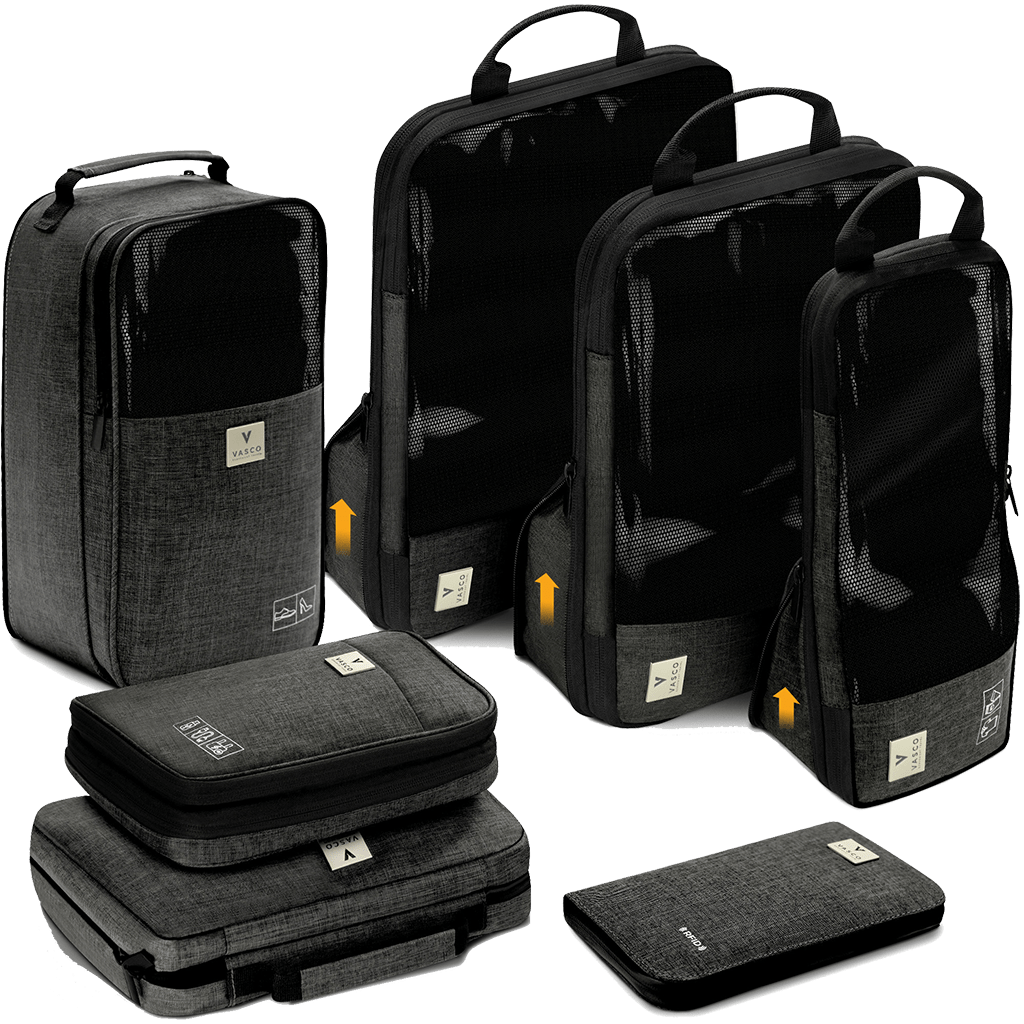 Vasco Playback Home Vasco Bags And Cubes Smart Packing Luggage