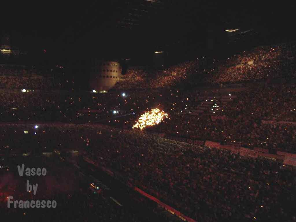 Vasco Asilo Republic Vasco Rossi Tour 2003 San Siro